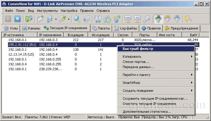 Аудит безопасности беспроводных сетей Wi-Fi.
